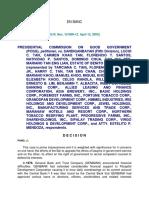 15. g.r. Nos. 151809-12 Presidential Commission on Good Environment (Pcgg) v. Sandiganbayan