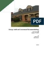 Kearney Residence Energy Audit