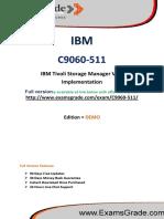 ExamsGrade C9060-511 Exam Training Material