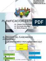 Planificacion Estrategica Medicina