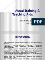 Audio-Visual Training & Teaching Aids L-4.ppt
