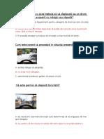 Întrebări și răspunsuri Permis de Conducere