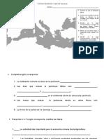 Guía de Trabajo Mapa Roma