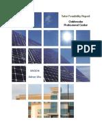 OPC Solar Feasibility Summary