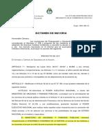Proyecto de ley Fondos Buitre