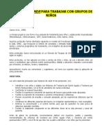 Protocolos Para Crisis- EMDR Grupal Con Niños