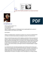 10-04-25 Request and Refusal of Opinion Letter by Harvard Law School Dean Martha Minow in re