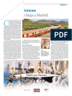 Trenes Turísticos de Renfe. El Al Andalus llega a Madrid