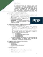 La Organización Jurídica