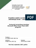 Evaluacija korisnickog interfejsa