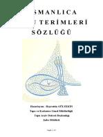 Osmanlica Tapu Termler Sozluu