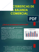 La Balanza Comercial y Principales Prod