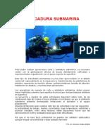 soldadura submarina