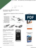 Herramientas de Diagnóstico Eléctrico Automotriz - Parte 1 - Encendido Electronico