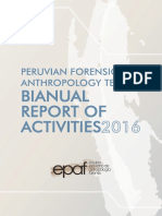 EPAF BIANUAL REPORT OF ACTIVITIES 2016