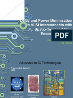 delay and energy minimization due to interconnects using encoding scheme