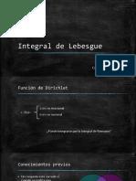 Integral de Lebesgue