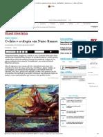 ponto crítico_ O chão e a utopia em Nuno Ramos - 25_10_2015 - Ilustríssima - Folha de S.pdf