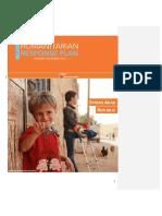 UN Humanitarian Response Plan 2016