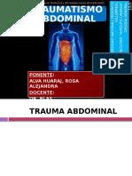 Traumatismo Abdominal-DR. BLAS