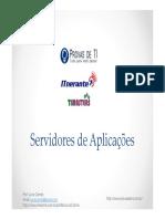 Servidores de Aplicacoes - Modulo 01 - Slides