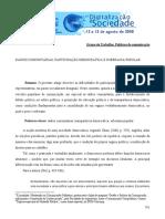 LOURENÇO, A.L.. Rádios Comunitárias, Participação Democrática e Soberania Popular