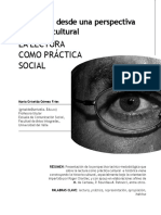 La Lectura Como Práctica Social