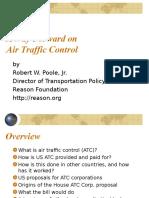 A Way Forward on Air Traffic Control
