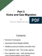Part 3 Kicks and Gas Migration