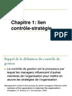 lien  contrôle-stratégie