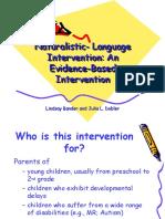 naturalistic- language intervention1