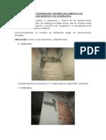 Informe de Reparación y Resane en Elementos de Confinamiento en Albañilería