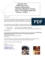 3ac musical performance parent letter