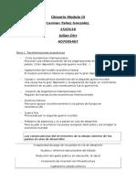 Glosario Modulo III
