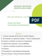 Nuevo Estatuto Aduanero Colombiano