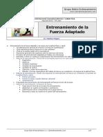 CATEDRA_Mauricio Moyano_Entrenamiento de La Fuerza Adaptado