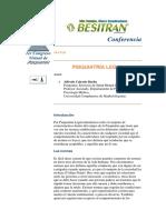Psiquiatría Legal y Forense.