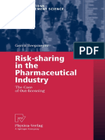 (Contributions to Management Science) Gerrit Reepmeyer-Risk-sharing in the Pharmaceutical Industry_ the Case of Out-licensing (Contributions to Management Science)-Physica-Verlag