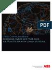6- 0002 Inlay Utility Communication 854