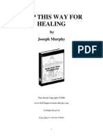 Step This Way for Healing - Joseph Murphy
