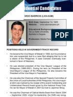 [Philippine Elections 2010] Manzano, Edu