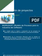 Gestión de Proyectos temas 2.5 y 2.6