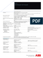 1- FR Caractéristiques Techniques ETL600 R4 (Feb. 2012)