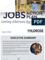 Wildrose jobs plan