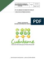 Manual Reportes Cuentame PrimeraInfancia V1