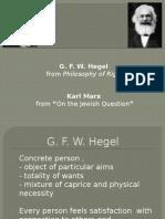 Hegel & Marx