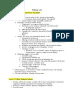 Pathology Notes