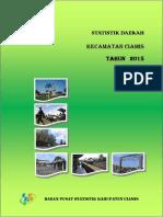 Statistik Daerah Kecamatan Ciamis Tahun 2015