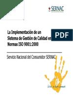Implementación SGC según ISO 9001
