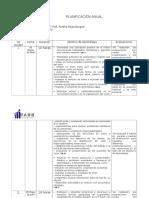Plan Anual Orientación 6to A